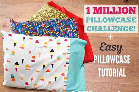 sew    million pillowcases challenge easy