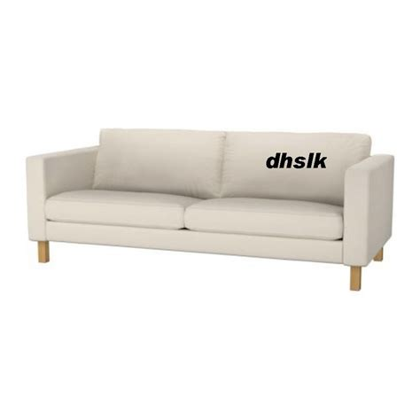 Ikea Karlstad 3 Seater Sofa Bed Cover by Ikea Karlstad 3 Seat Sofa Slipcover Cover Linneryd