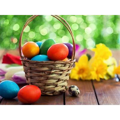 How a bunny baskets and eggs got connected with Easter