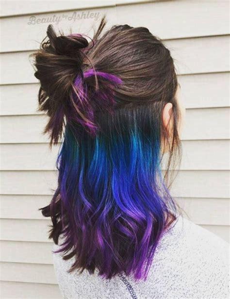 bunte haare s die besten 25 bunte haare ideen auf gef 228 rbte haare verr 252 ckte haarfarbe und