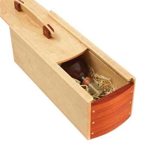 gift perfect wine box woodworking plan  wood magazine wood work pinterest  wood