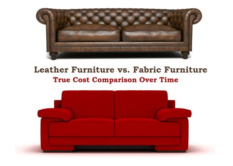 Upholstery Costs Sofa by Leather Furniture Vs Fabric True Cost Comparison Of