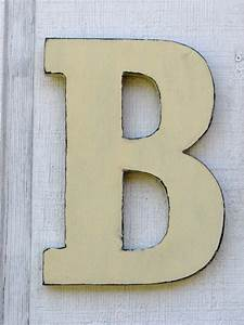wooden letters rustic letter b home decor distressed painted With wooden letters with pictures