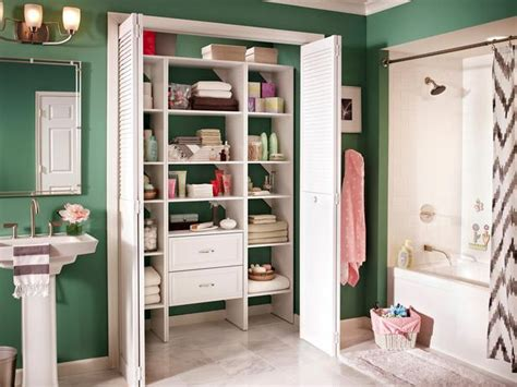 Bathroom Closet Organizers by Big Ideas For Small Bathroom Spaces It S Your Home