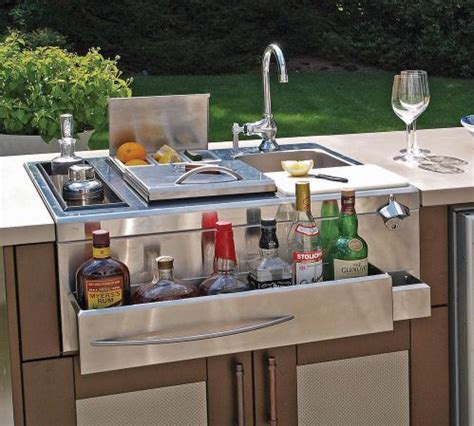 Railroad House Bar Sinking by Outdoor Kitchen Bar All Cooling Amenities Danver