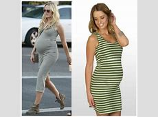 How to achieve celebrity maternity style