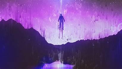 4k Cosmic Colors Human Wallpapers