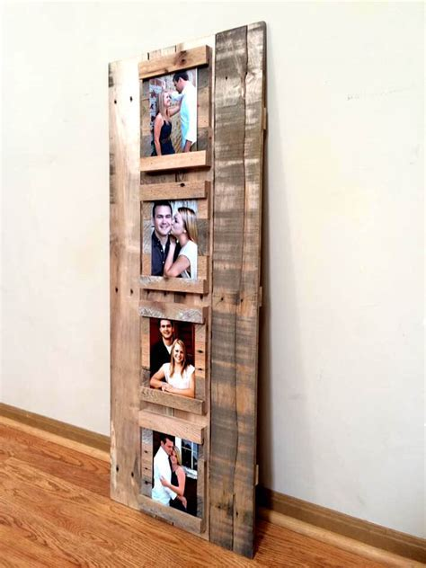Making Picture Frames from Pallets