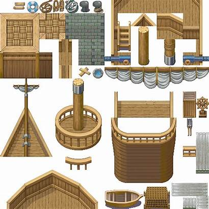 Ship Tileset Map Building Zharth Games Autotiles