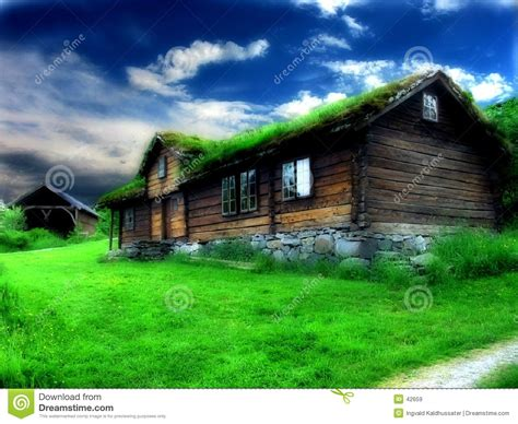 Old House Stock Image. Image Of Field, Colorful, House