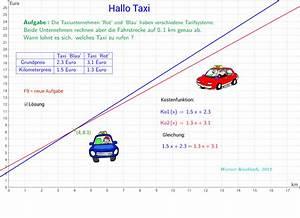 Taxi Berechnen : lineare gleichungssysteme geogebra ~ Themetempest.com Abrechnung