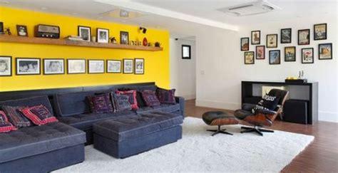 sala de tv sofa preto salas sof 225 preto como decorar modelos e 40 fotos