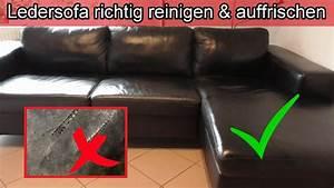 Ledersofa Farbe Auffrischen : ledersofa richtig reinigen auffrischen leder couch ~ A.2002-acura-tl-radio.info Haus und Dekorationen