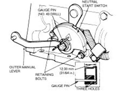 Repair Guides Automatic Transmission Neutral Safety