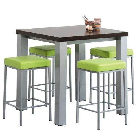 hauteur table bar pour cuisine hauteur tabouret pour ilot cuisine cuisine en image