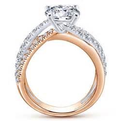 pink gold engagement rings 14k white pink gold free form engagement ring er12337r6t44jj engagement rings fashion