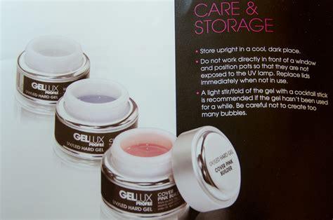 gellux hard gel nail extensions  beauty salon website