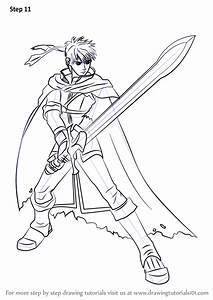 Learn How To Draw Ike From Super Smash Bros  Super Smash Bros   Step By Step   Drawing Tutorials