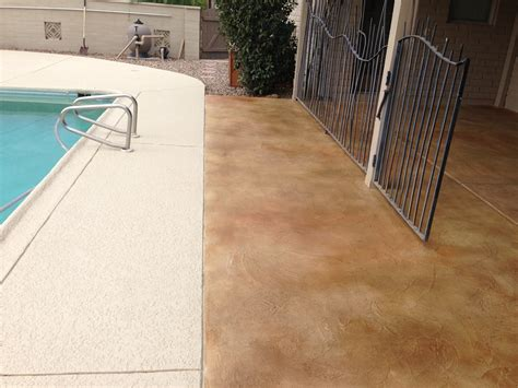 tucson concrete overlay decorative concrete flooring
