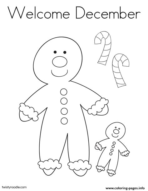 december coloring pages welcome december 2 coloring pages printable