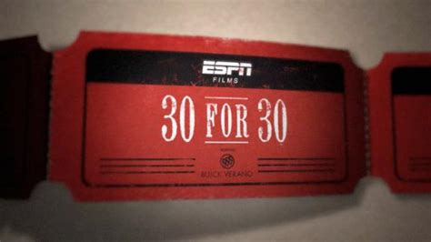 Espn To Air 8 New '30 For 30 Films' As Part Of Its World