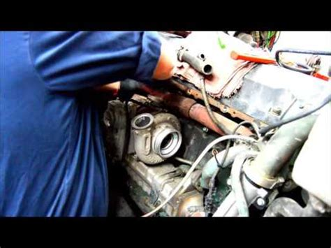 volvo  oil cooler cover youtube