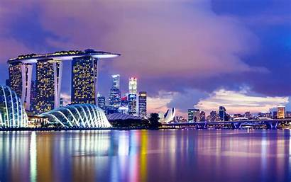 Marina Bay Sands Singapore Background Wallpapers