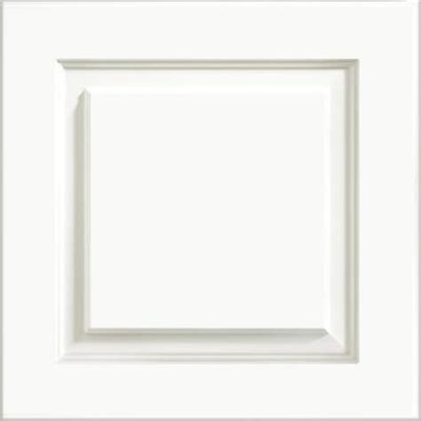 thermofoil cabinet doors home depot kraftmaid 15x15 in cabinet door sle in summit white