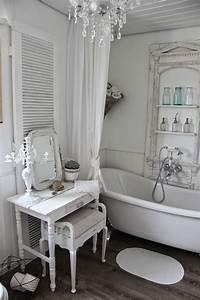 Was Ist Shabby Chic : 15 lovely shabby chic bathroom decor ideas style motivation ~ Orissabook.com Haus und Dekorationen