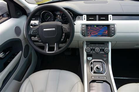 evoque land rover interior 2013 range rover evoque digital trends