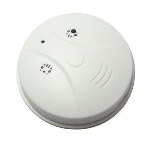 camara espia hd oculta en detector de humo sensor