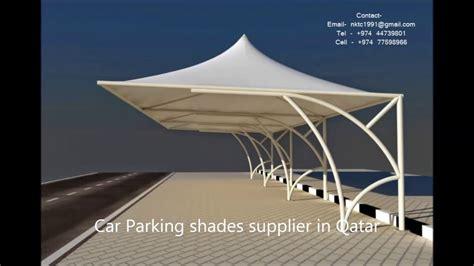 car parking shades supplier  qatar youtube