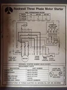 Single Line Diagram Motor Starter