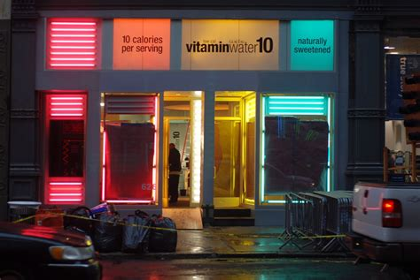 nyc vitamin water popup store opening friday pop  pop