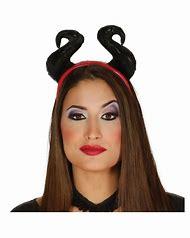 Black she devil horns