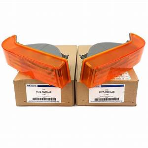 Ford F150 F250 F350 Bronco Orange Corner Turn Signal Light