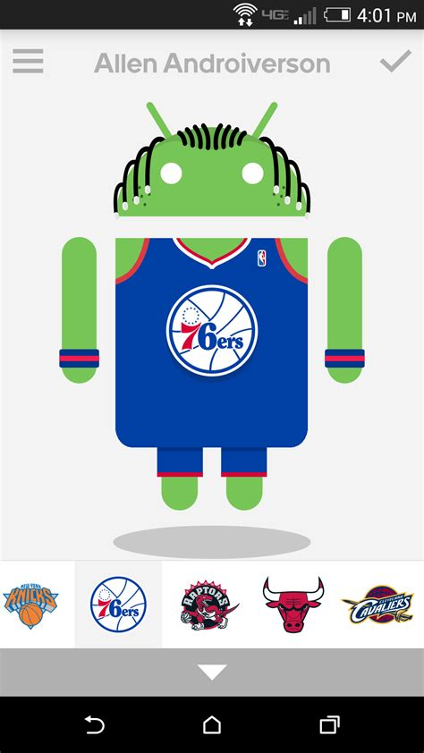 androidify update includes nba gear and even more goodies