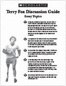 Terry Fox Essay Dr Seuss Essay Terry Fox Persuasive Essay Examples  Terry Fox Persuasive Essay Questions Essay About Responsibility An Essay On English Language also Academic Help  Synthesis Essay
