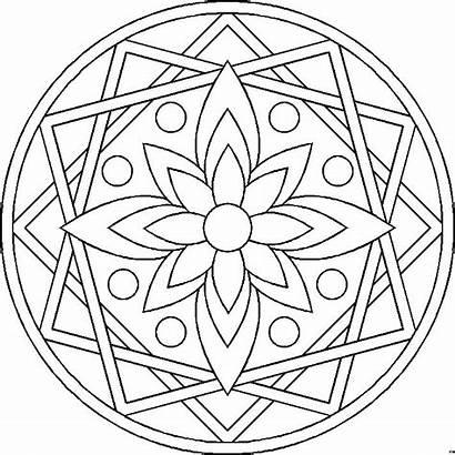 Mandalas Pintar Colorear Mandala Coloring Imprimir A4