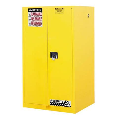 justrite flammable cabinet 60 gallon justrite sure grip safety cabinet for flammables 60