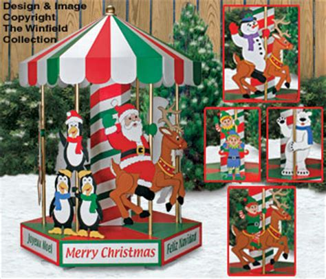 all christmas christmas carousel woodworking plans