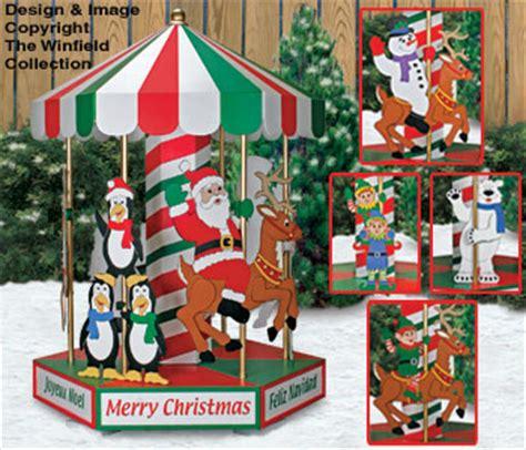 christmas christmas carousel woodworking plans