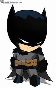 Batman chibi by ~sham93 on deviantART. My goodness, it's ...
