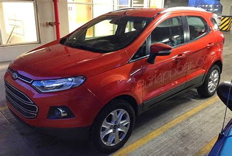 ford ecosport spotted  usa  launch planned