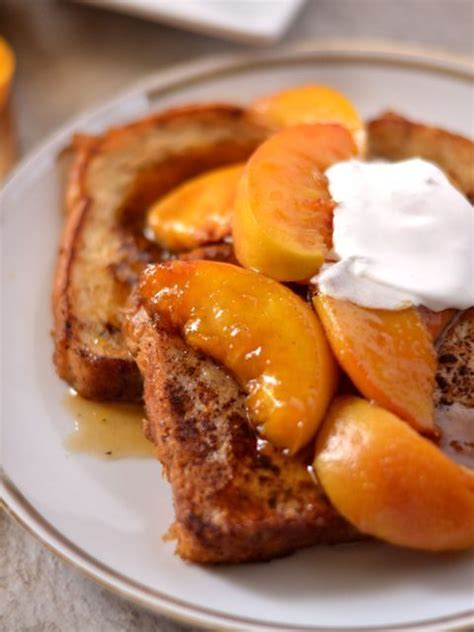 Peaches Cream French Toast Coop Can Cook