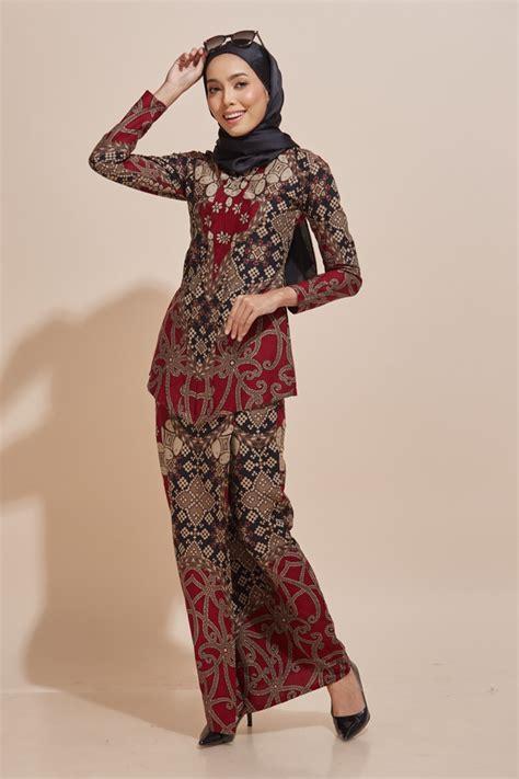 kara kebaya batik code kr47 habra fashion