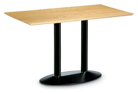 Target Table L Base by Target Furniture Ltd Product Lyric Oval Dining Table