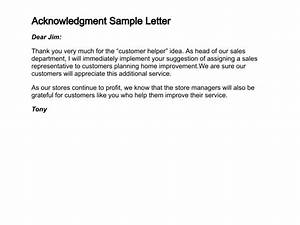 31 Acknowledgement Letter Templates Free Samples Examples Acknowledgement Sample For Internship
