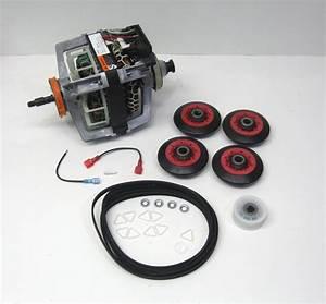Combo9 279787 Dryer Motor 4392067 Belt Roller Kit 661570