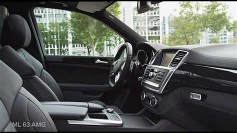 mercedes ml  amg interior hd option auto news